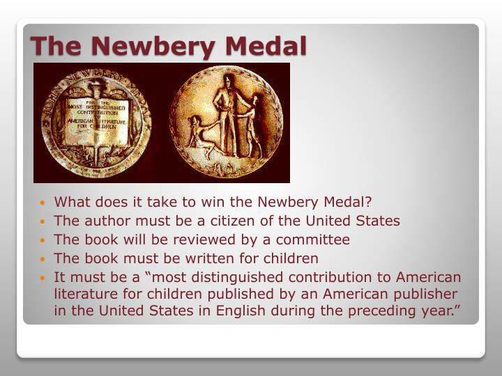 What does it take to win the Newbery Medal?