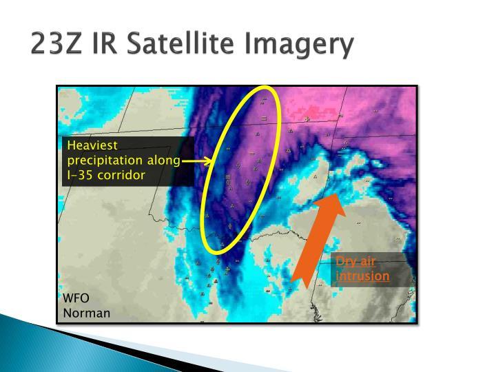 23Z IR Satellite Imagery