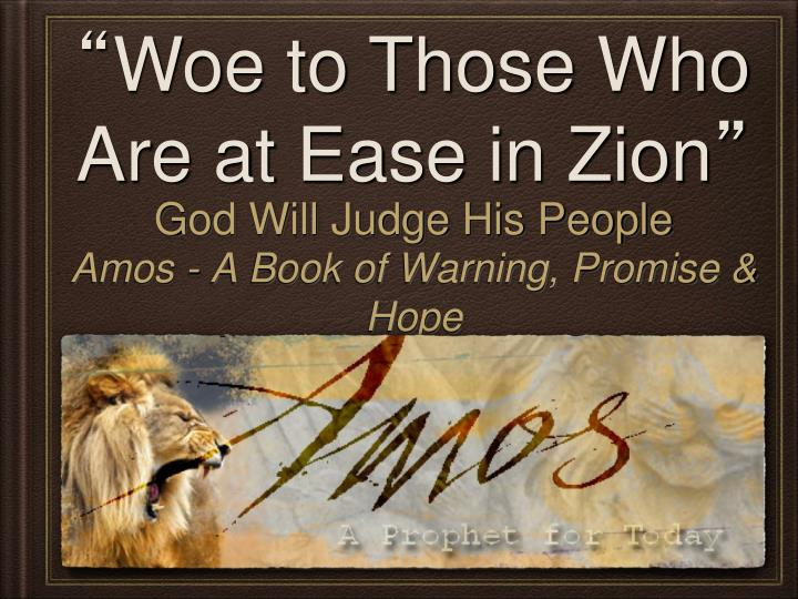 god will judge his people n.
