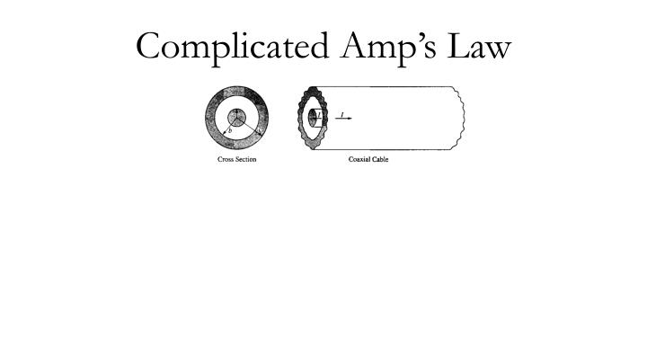 complicated amp s law n.