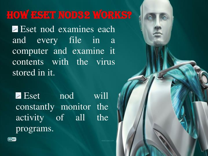 How Eset Nod32 Works?
