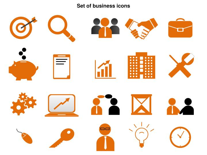 ppt set of business icons powerpoint presentation id 2448620