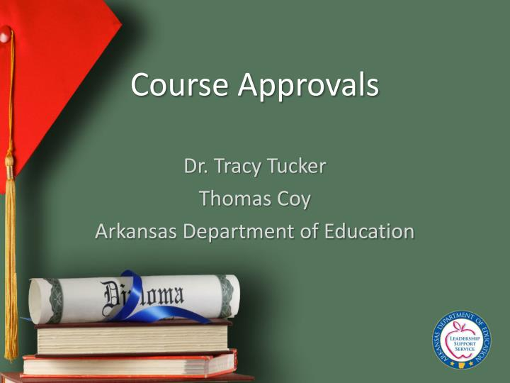 course approvals n.