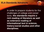 ela standards advances2
