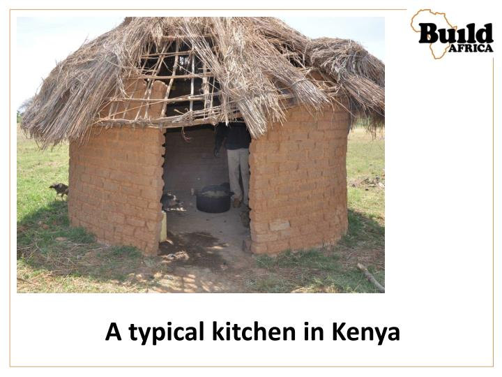 A typical kitchen in Kenya