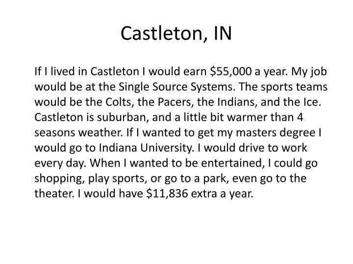 Castleton, IN