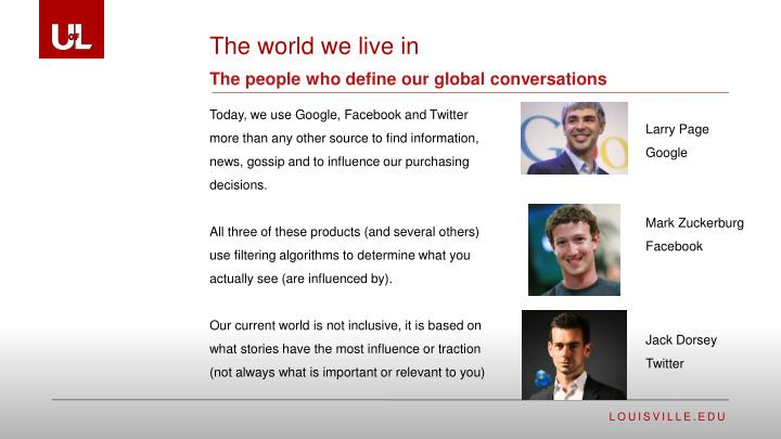The people who define our global conversations