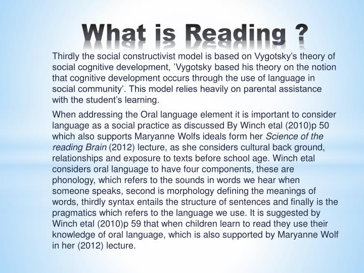 What is Reading ?