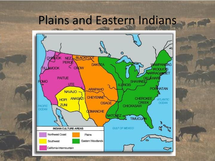 plains and eastern indians n.