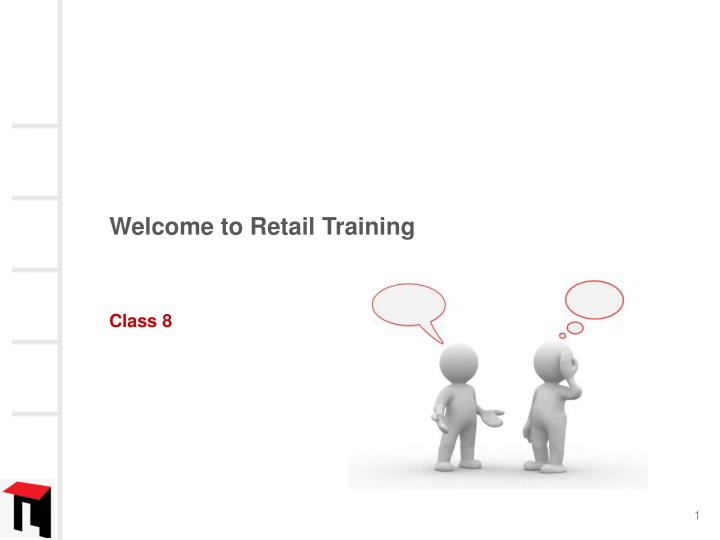 welcome to retail training n.