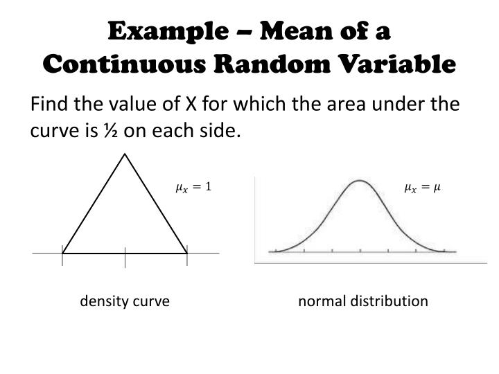 discrete and continuous random variable examples pdf