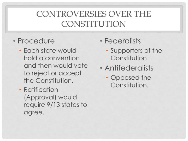 the aim of convincing voters to ratify the constitution The documents pertaining to new york's ratification of the constitution skip to navigation neglect or refuse to make laws or regulations for the purpose.