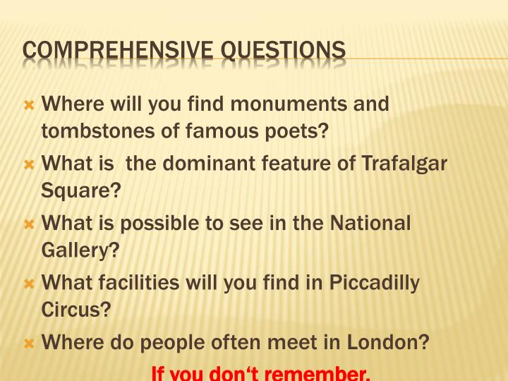 Where will you find monuments and tombstones of famous poets?