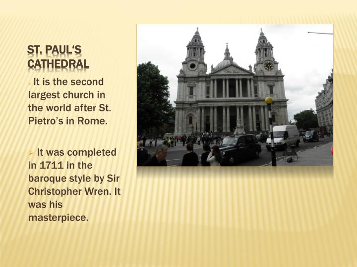 St paul s cathedral