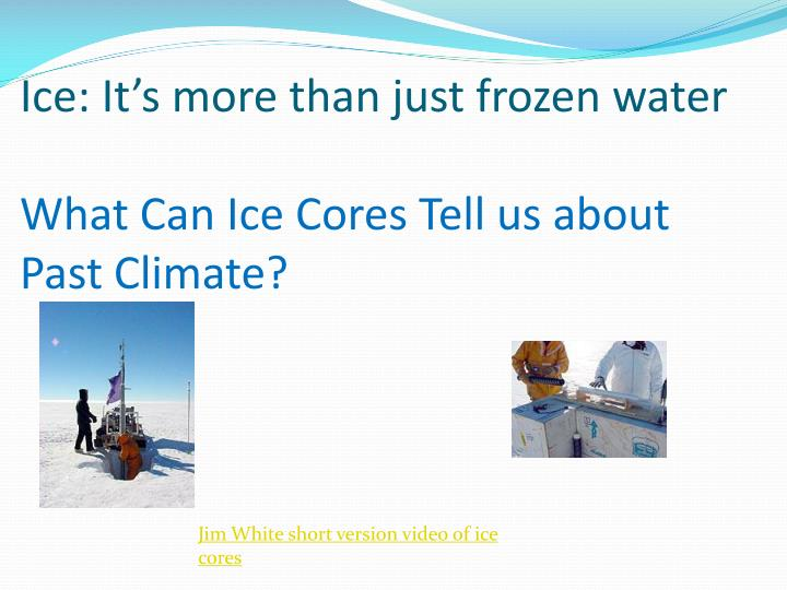 Ice: It's more than just frozen water