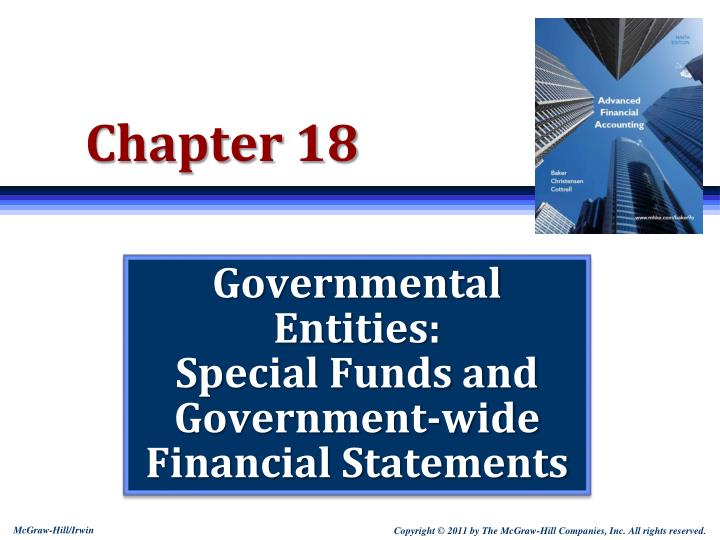 Ppt Governmental Entities Special Funds And Government Wide Financial Statements Powerpoint Presentation Id 2450510