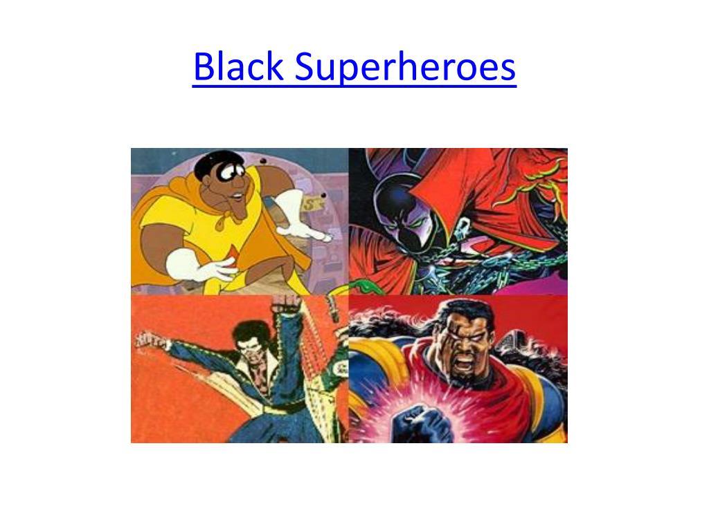 ppt black superheroes powerpoint presentation id 2450548