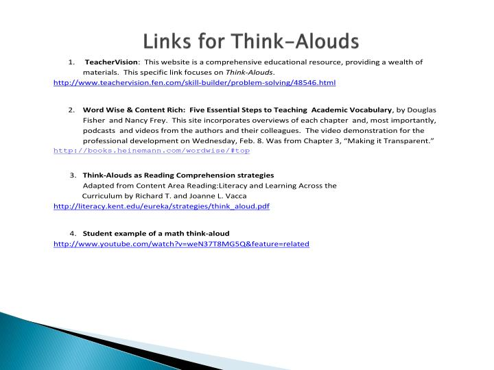 Links for Think-