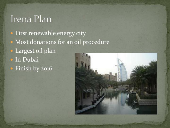 Irena Plan