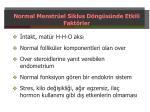 normal menstr el siklus d ng s nde etkili fakt rler