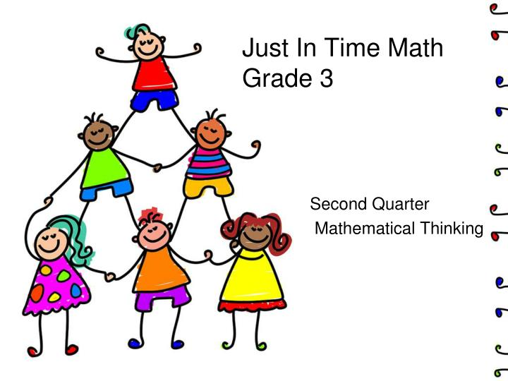 just in time math grade 3 n.