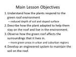 main lesson objectives