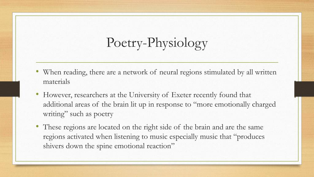 PPT - Poetry and the Senses PowerPoint Presentation - ID:2451338