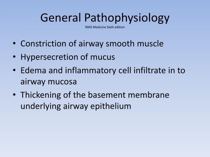 General Pathophysiology