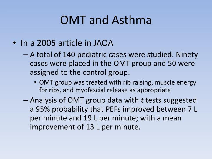 OMT and Asthma