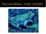 the color wheel cool colors1