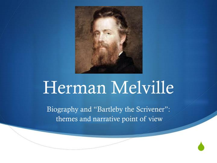 melville bartleby Bartleby, the scrivener: a story of wall street is a short story by the american writer herman melville, first serialized anonymously in two parts in the november and december 1853 issues of.