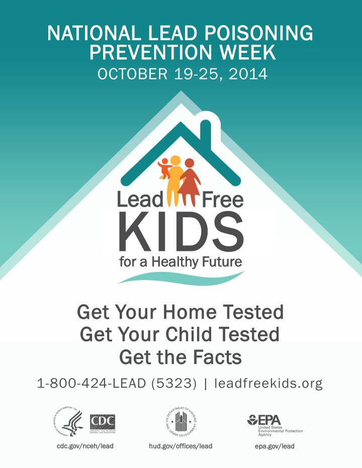 national lead poisoning n.