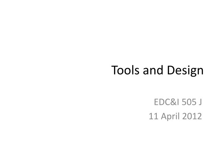 tools and design n.