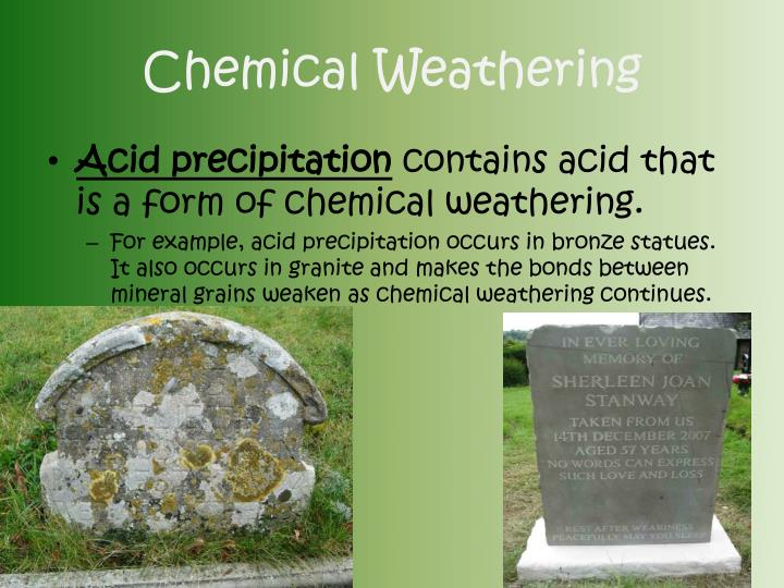 acid precipitation affects stone in two Effects of acid rain acid rain effects include acidification of lakes and streams and damage to trees at high elevations (for example, red spruce trees above 2,000 feet) and many sensitive forest.