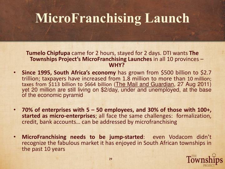 MicroFranchising