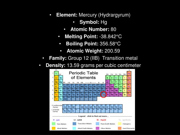 Ppt Mercury Powerpoint Presentation Id2452728