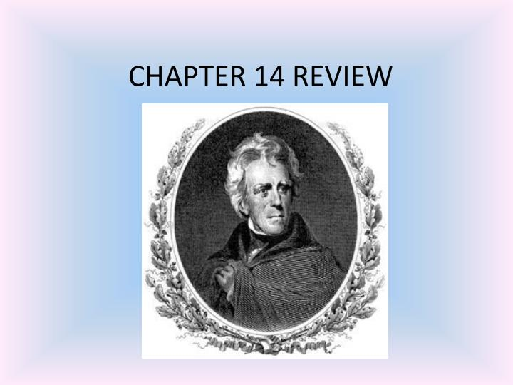 chapter 14 review n.
