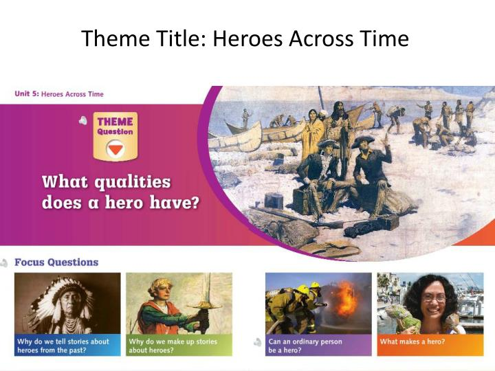 Theme Title: Heroes Across Time