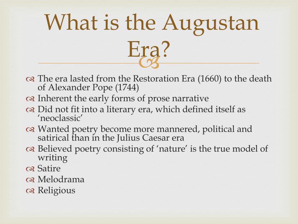 Ppt Augustan Era Powerpoint Presentation Free Download Id 2453080