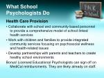 what school psychologists do7