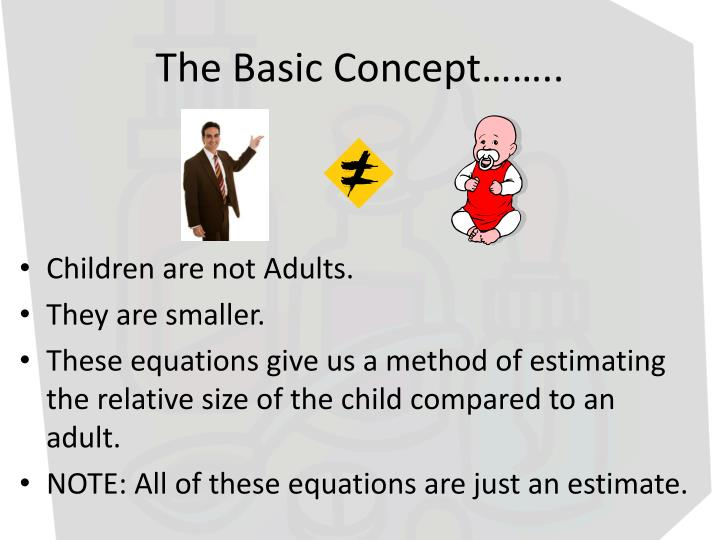 The basic concept