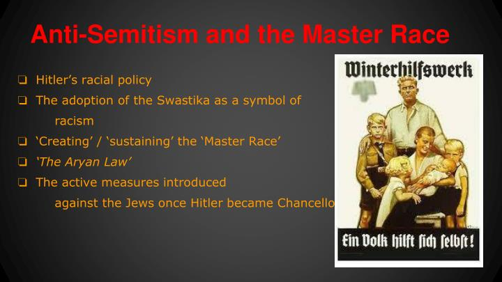 Anti-Semitism and the Master Race
