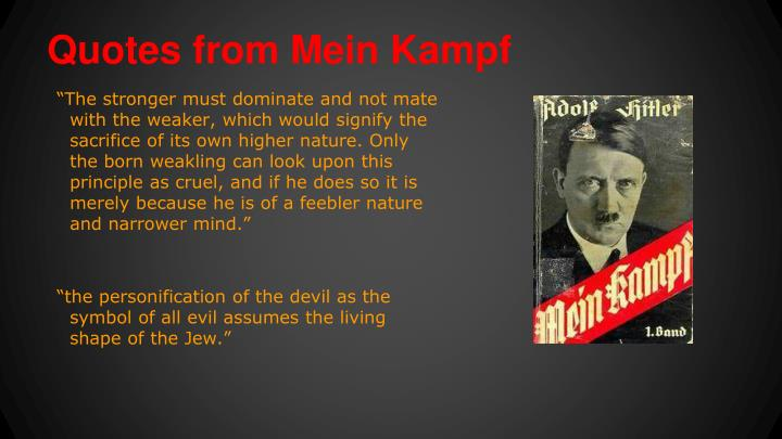 Quotes from Mein Kampf