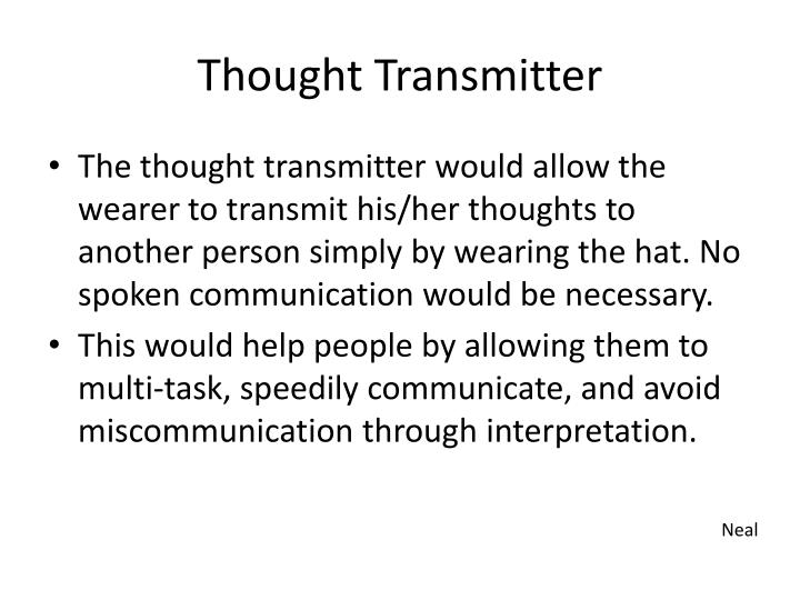 Thought transmitter1