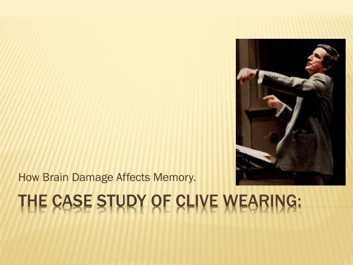 how brain damage affects memory n.