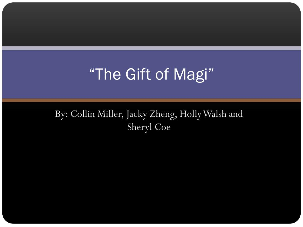 simile in the gift of the magi