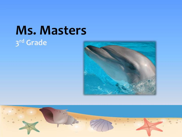 ms masters