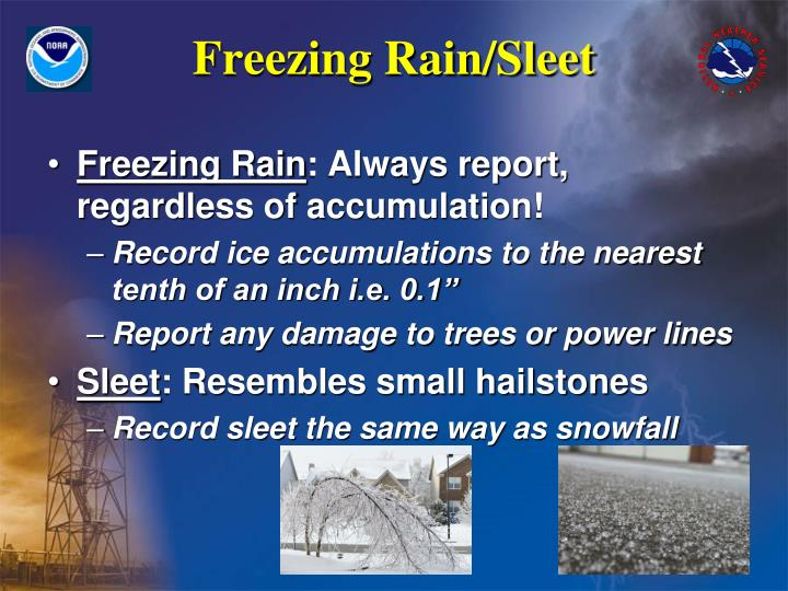 Freezing Rain/Sleet