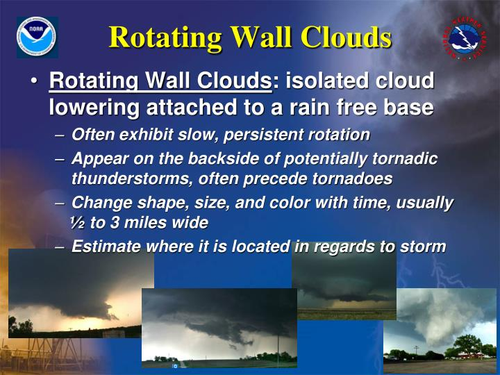 Rotating Wall Clouds