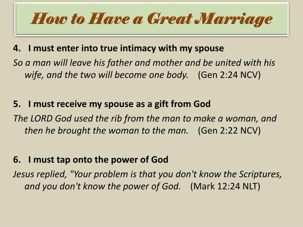 PPT - Series: Marriage Builders PowerPoint Presentation - ID